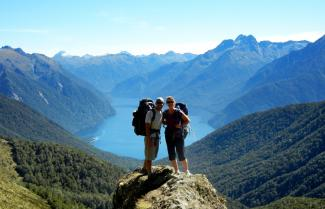 Fantastic views of Fiordland