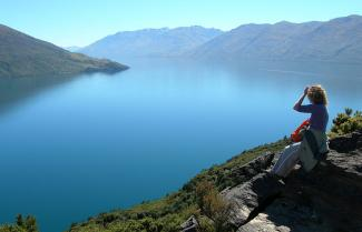 Lake Wanaka on a New Zealand self drive tour