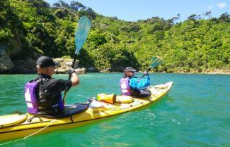 Kayaking to Picton