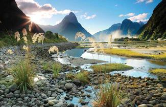 Fiordland New Zealand on a New Zealand Relaxed Adventure Tour