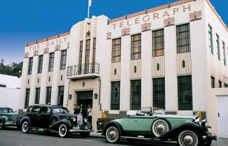 A perfect example of the Art Deco period that Napier is famous for.