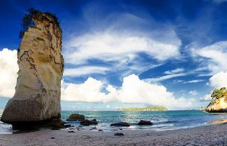 A beautiful photo of the Coromandel coast.