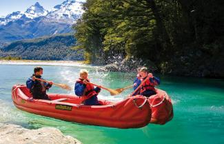 New Zealand Family Adventure Dart River Kayaking