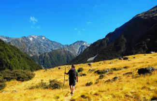 Hiking the Brodrick Pass