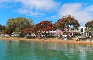 Seaside town of Russell in the Bay of Islands