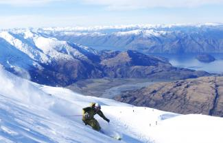 Ski at Trebble Cone