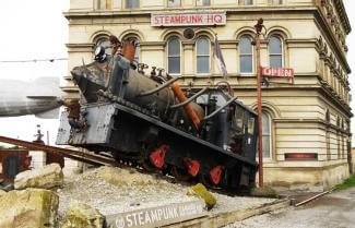 Steampunk Oamaru New Zealand
