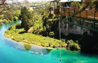 Bungee Jump over the Mighty Waikato