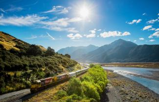 TranzAlpine Rail journey