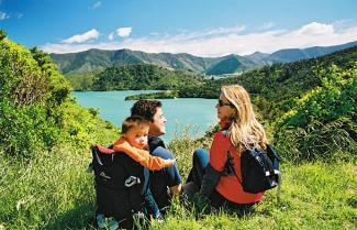 Summer on the Queen Charlotte Track