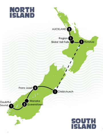National Geographic New Zealand Itinerary