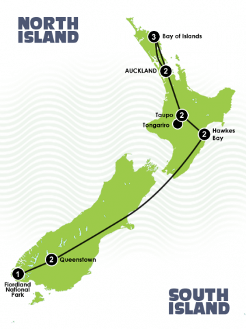 13 Day New Zealand Exclusive Tour Itinerary