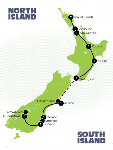 14 day nz cultural heritage