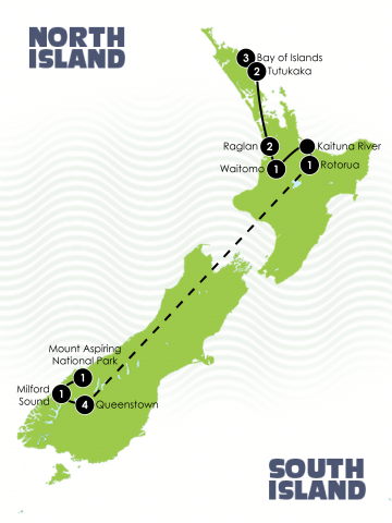 15 day NZ family Adventure
