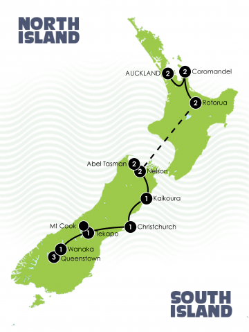 18 day New Zealand Honeymoon