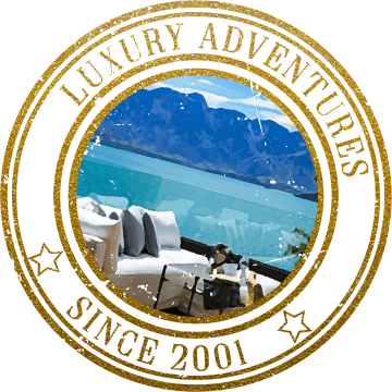 Luxury Tour Stamp New Zealand