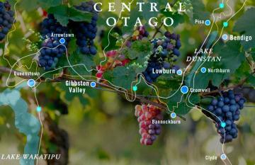 Map Central Otago