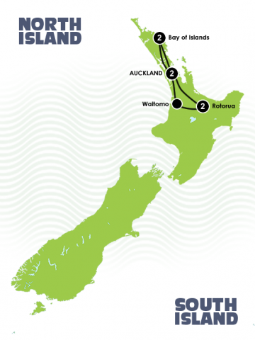 7 Day Quick New Zealand Fix North Island Itinerary