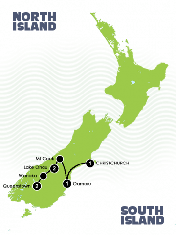 New Zealands self drive winter itinerary