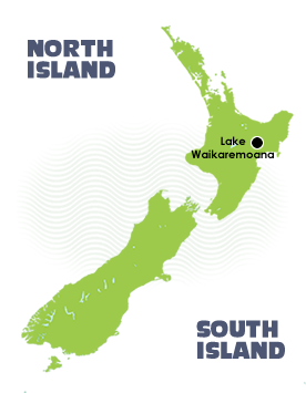 Lake Waikaremoana Guided Walk Map