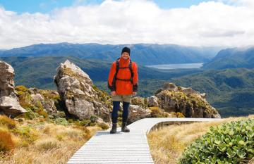 New Zealand's Hump Ridge Track