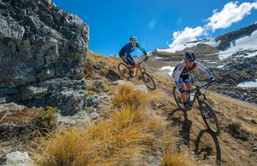Biking Queenstown