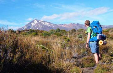 Rosa and Juuso Hike the Tongariro Northern Circuit