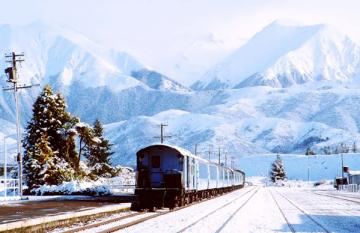 New Zealand by Rail