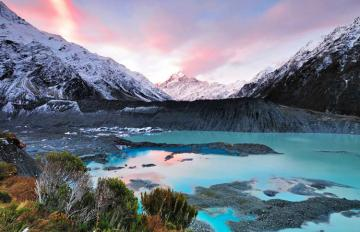 Mount Cook Hooker Valley
