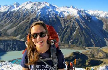 Hiking adventure in New Zealands Mt Cook National Park