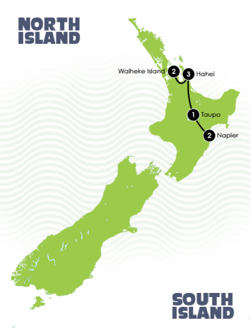 New Zealand Relaxing Journeys Self Drive Tour
