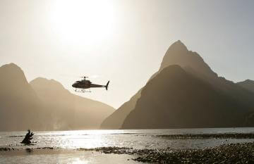 Luxury Helicopter Flight over Fiordland